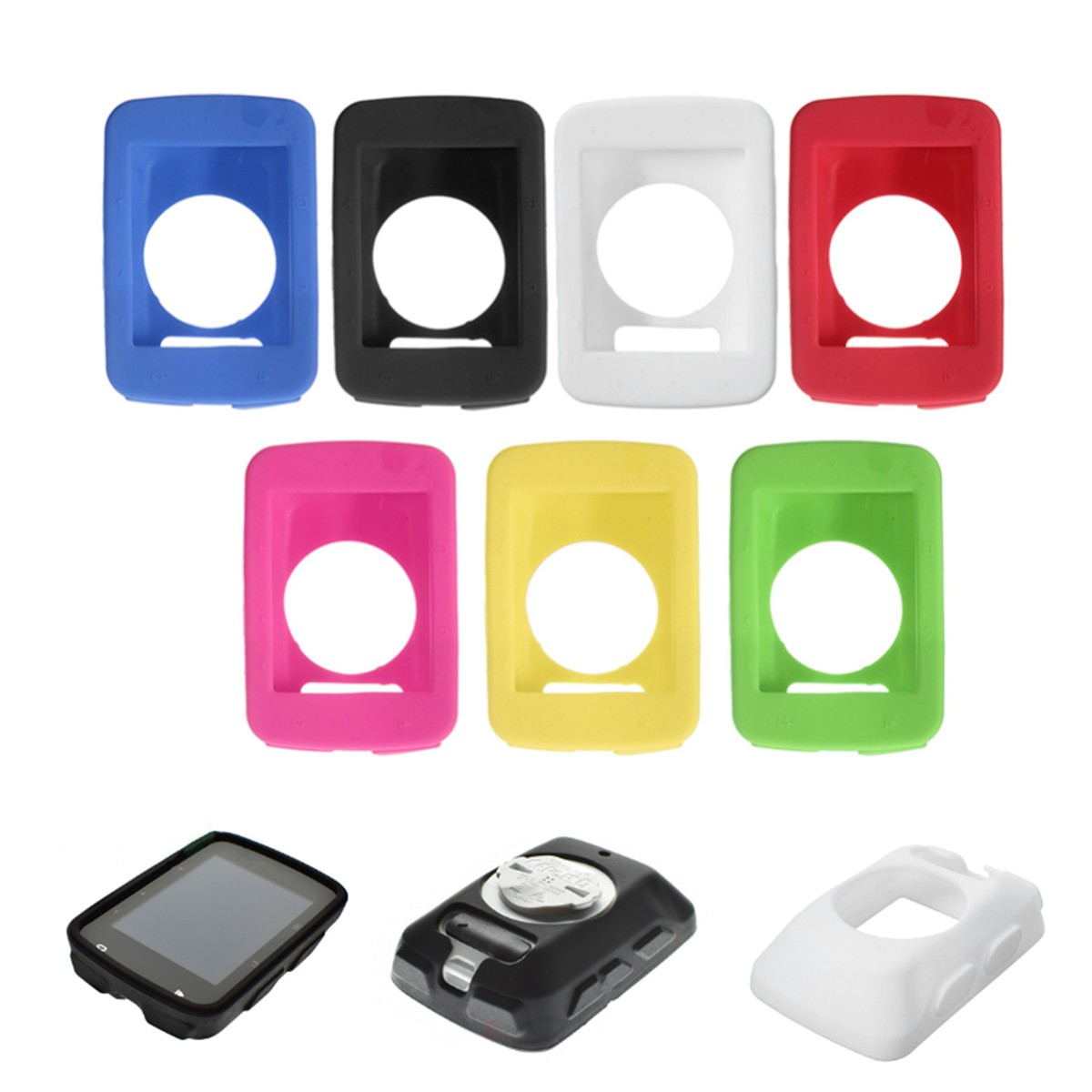 2.95x1.96inch Silicone Gel Skin Case Cover Fit for Garmin Edge 5