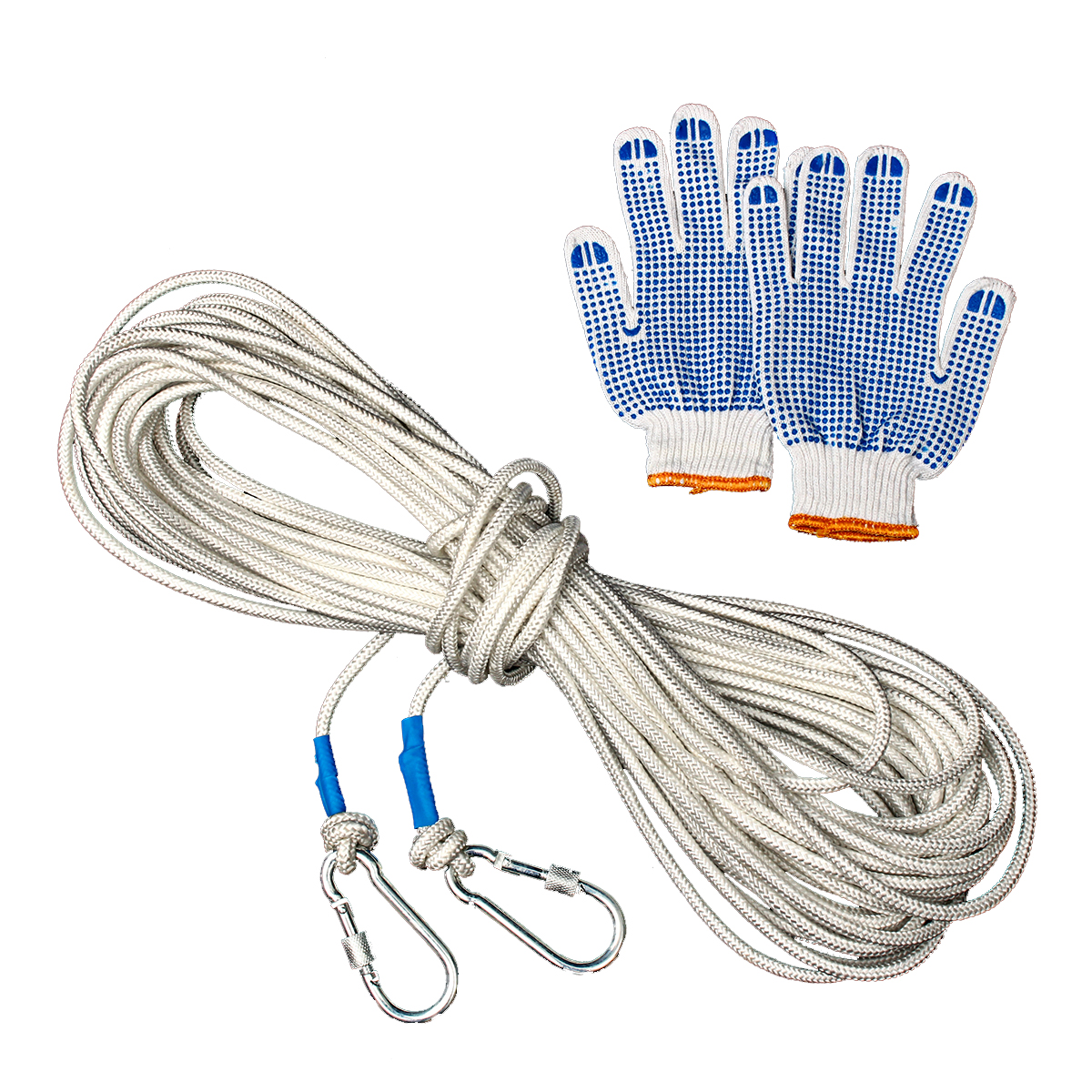 10/15/20/30m Outdoor Survival Safety Paracord Steel Wire Rope Ca