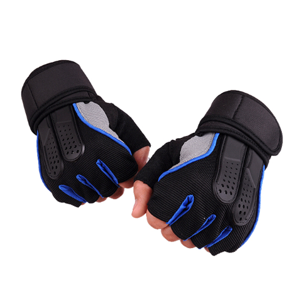 1 Pair KALOAD Tactical Glove Rubber Military Sports Climbing Cyc