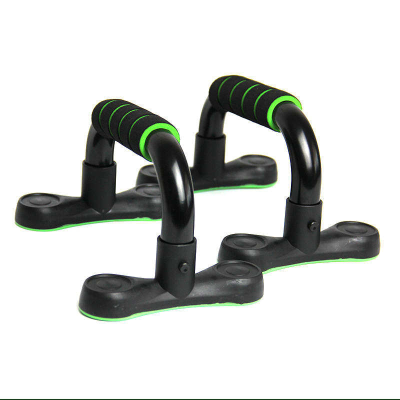 1 Pair Push Up Stands Non-Slip Cushioned Foam Grip Sports Suppor