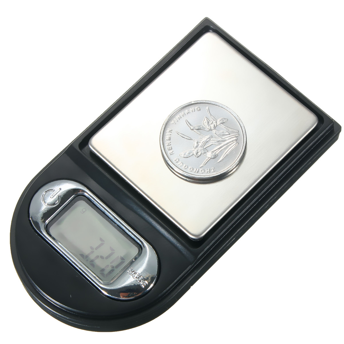 100gx0.01g Lighter Shape Mini Digital Jewelry Pocket  Scale LCD