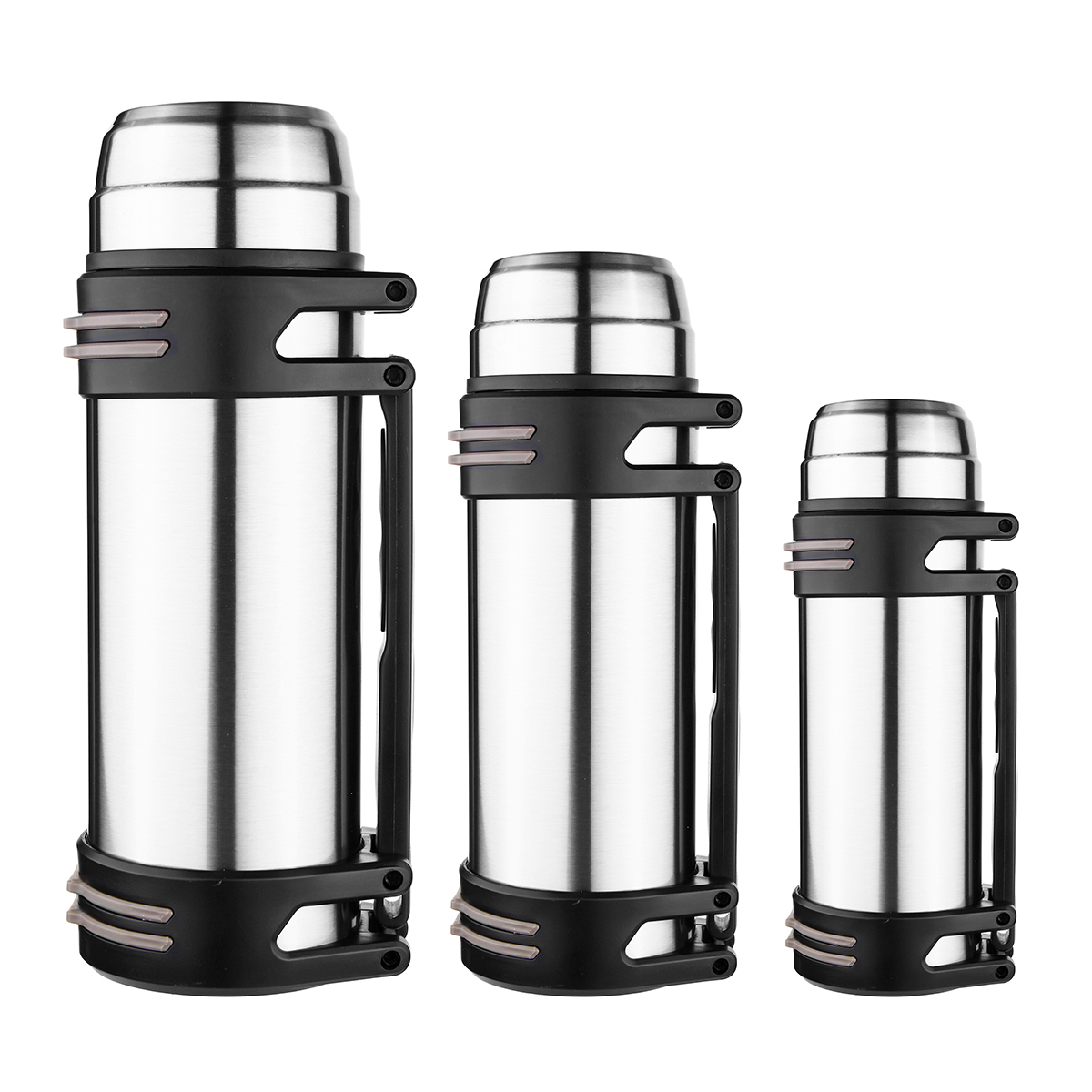 1.2-2L Stainless Steel Insulated Thermos Cup Water Mug Vacuum Fl