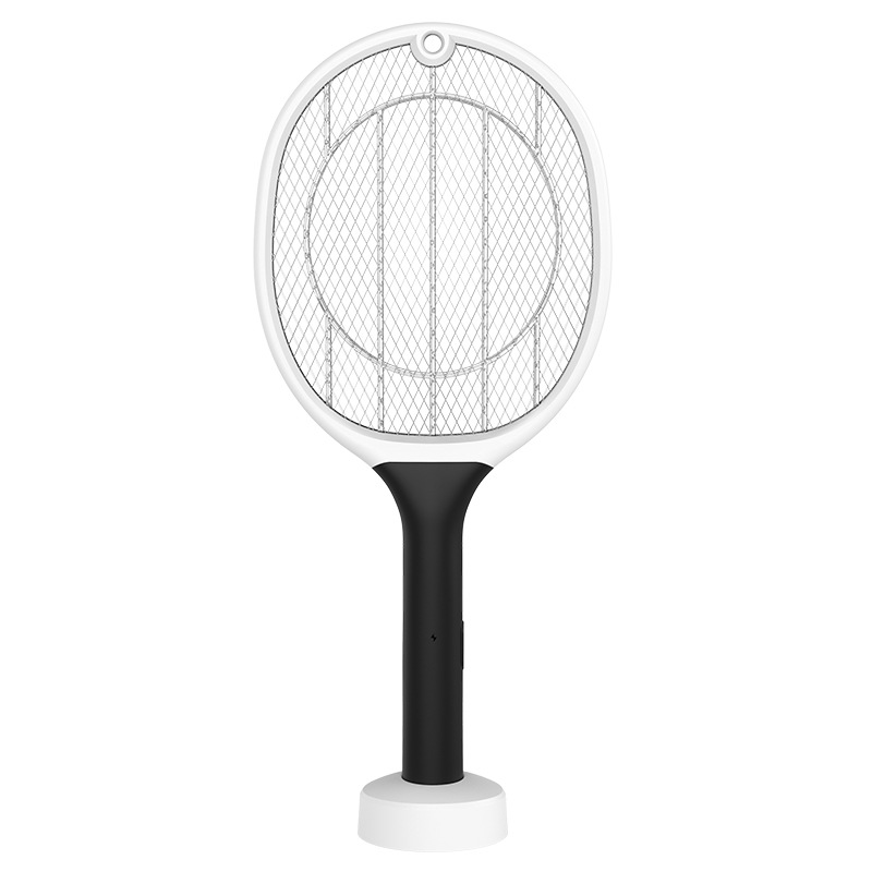 2 In 1 Rechargeable Electric Mosquito Swatter USB Bug Pest Contr
