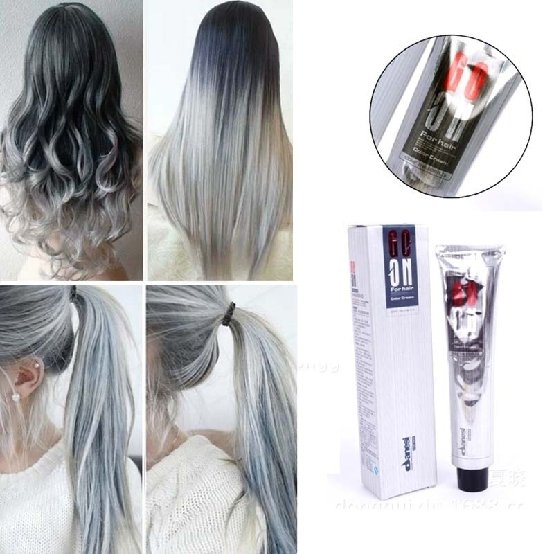 100ml Light Gray Hengda Danis Original Ecological Single Hair Dy
