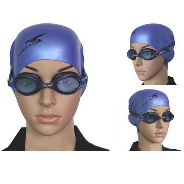 Adjustable Waterproof Anti Fog Swimming Glasses Goggles For Adul