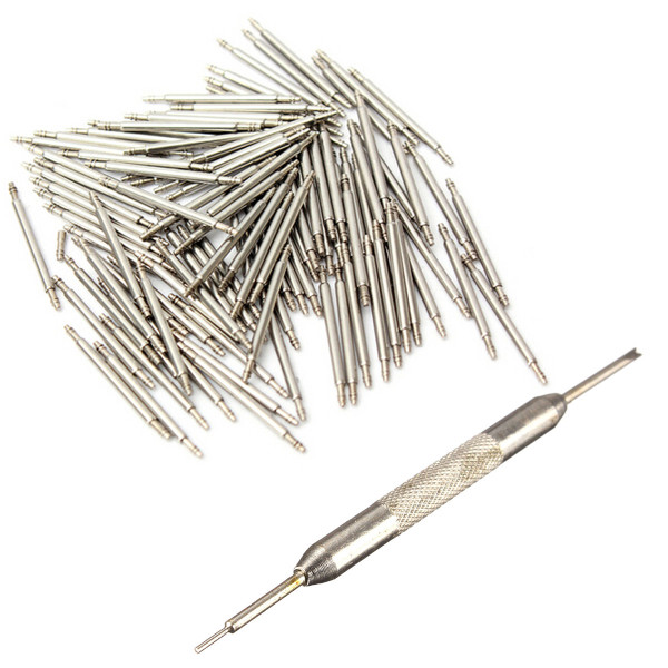 108Pcs 8mm to 25mm Watch Band Spring Strap Link Pins